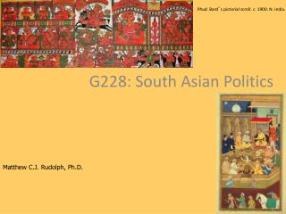 G228: South Asian Politics