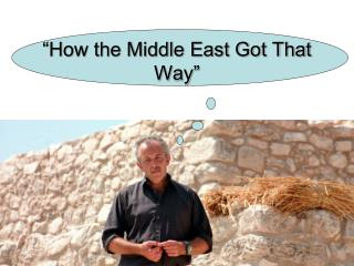 """How the Middle East Got That Way"""