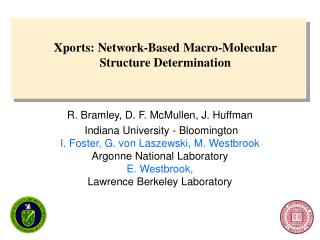 Xports: Network-Based Macro-Molecular Structure Determination