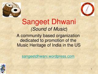 Sangeet Dhwani (Sound of Music )