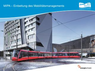 MIPA – Einbettung des Mobilitätsmanagements