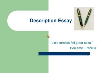 Description Essay