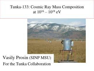 Tunka-133: Cosmic Ray Mass Composition  at 10 16  – 10 18  eV