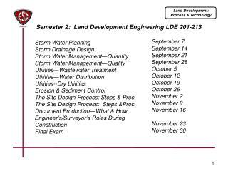 Storm Water Planning Storm Drainage Design Storm Water Management�Quantity