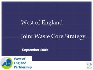 West of England  Joint Waste Core Strategy