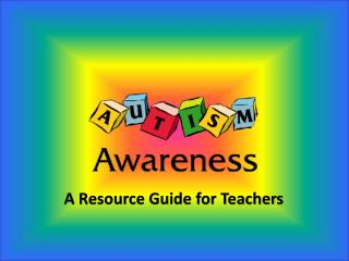 A Resource Guide for Teachers