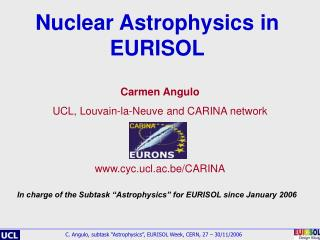 Nuclear Astrophysics in EURISOL