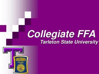 Collegiate FFA