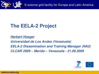 The EELA-2 Project