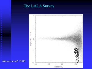 The LALA Survey