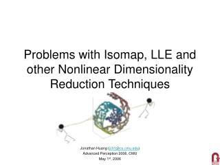 Problems with Isomap, LLE and other Nonlinear Dimensionality Reduction Techniques