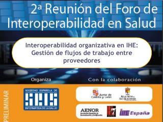 Interoperabilidad organizativa  en IHE:  Gestión  de  flujos  de  trabajo  entre  proveedores