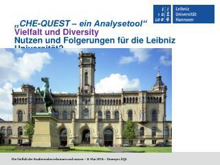 Die Vielfalt der Studierenden erkennen und nutzen – 8. Mai 2014 – Domeyer ZQS