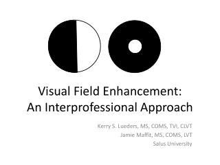 Visual Field Enhancement:   An Interprofessional Approach