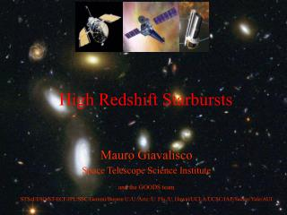 High Redshift Starbursts