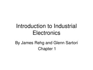Introduction to Industrial Electronics