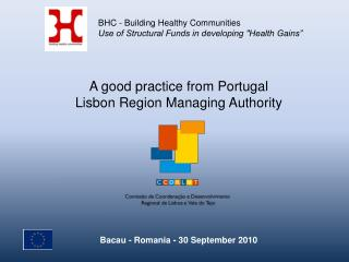 A good practice from Portugal Lisbon Region Managing Authority