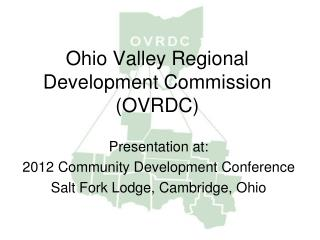 Ohio Valley Regional Development Commission (OVRDC)