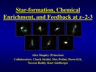Star-formation, Chemical Enrichment, and Feedback at z~2-3