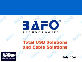 Total USB Solutions and Cable Solutions
