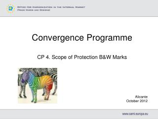 Convergence Programme CP 4. Scope of Protection B&W Marks