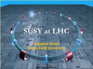 SUSY at LHC