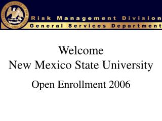 Welcome New Mexico State University