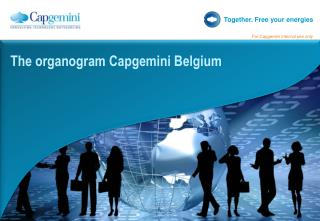 The organogram Capgemini Belgium