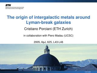 The origin of intergalactic metals around Lyman-break galaxies