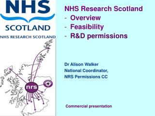 NHS Research Scotland  Overview Feasibility R&D permissions