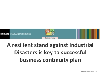From Start to Finish:  A Business Continuity Plan