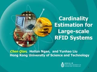 Cardinality Estimation for Large-scale RFID Systems