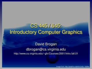 CS 445