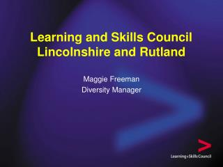 Learning and Skills Council Lincolnshire and Rutland