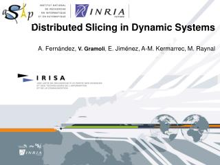 Distributed Slicing in Dynamic Systems