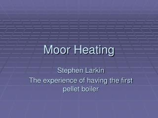 Moor  Heating