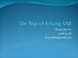 KrzyCube Yu 2008-12-08 krzycube@gmail