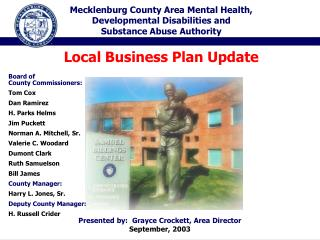 Mecklenburg County Area Mental Health, Developmental Disabilities and Substance Abuse Authority