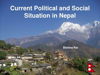 Current Political and Social Situation in Nepal