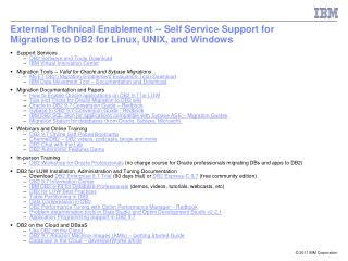 Support Services DB2 Software and Tools Download IBM Virtual Innovation Center