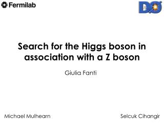 Search for the Higgs boson in association with a Z boson