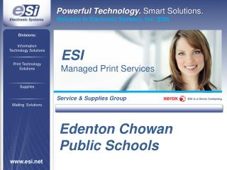 Information Technology Solutions Print Technology Solutions Supplies Mailing  Solutions