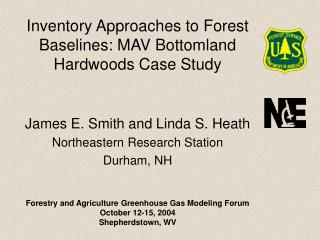 Inventory Approaches to Forest Baselines: MAV Bottomland Hardwoods Case Study