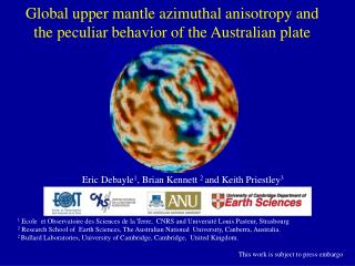 Global upper mantle azimuthal anisotropy and the peculiar behavior of the Australian plate