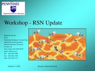 Workshop - RSN Update
