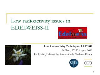 Low radioactivity issues in EDELWEISS-II