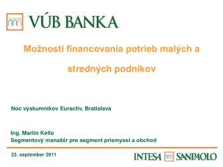 Noc výskumníkov Euractiv, Bratislava