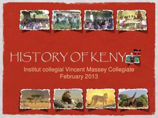HISTORY OF KENYA