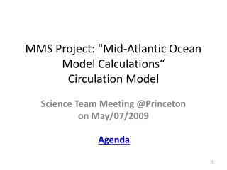 MMS Project: