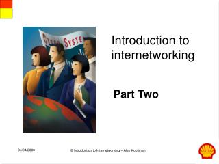 Introduction to  internetworking